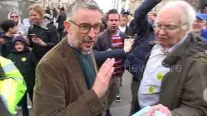 News video: Actor Steve Coogan joins hundreds of thousands at People's Vote rally in London