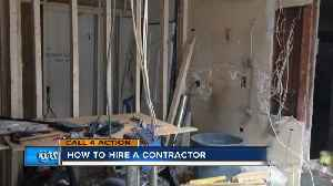 How to hire a contractor [Video]