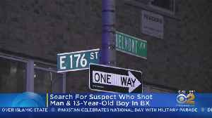 13-Year-Old Among 2 People Wounded In Bronx Shooting [Video]