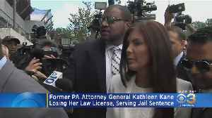 Former Pa. Attorney General Kathleen Kane Losing Her Law License [Video]