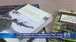 News video: Push To Remove Mark Twain's 'The Adventures Of Huckleberry Finn' From New Jersey Curriculum