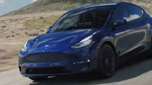 Elon Musk Unveils Tesla Model Y [Video]