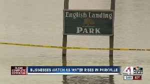 Flooding in Parkville should not affect businesses near English Landing Park [Video]