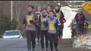 Boston Marathon Runners Get Their Practice In Before The Big Day [Video]