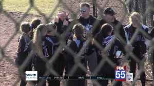 Leo Softball Blanks Luers to Open Season [Video]