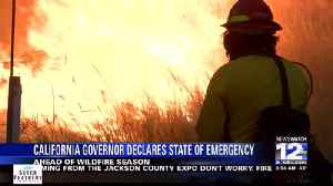 California declares wildfire emergency before fire season [Video]