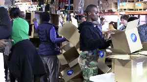News video: Toronto volunteers prepare aid for Cyclone Idai victims in Mozambique and Zimbabwe