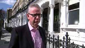 Gove: Not time to change captain of ship [Video]