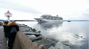 Almost 400 People Airlifted From Stricken Cruise Liner Off Norway [Video]