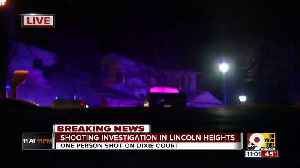 One person shot in Lincoln Heights [Video]