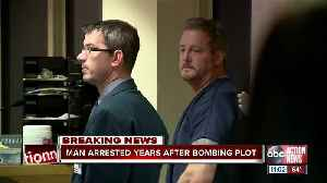 Man arrested years after bombing plot [Video]
