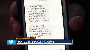 Power goes out on Marquette University for the second time this week [Video]