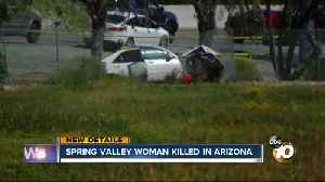 San Diego woman fatally stabbed after crash on 101 in Arizona [Video]