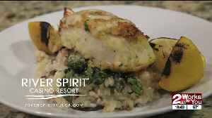 In the Kitchen with Fireside Grill: Italian Crusted Chilean Sea Bass [Video]