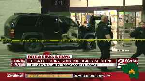 One dead after a shooting and hit & run [Video]