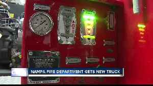 Nampa Fire Department gets new truck [Video]