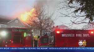 Melville Fire Leaves 100 People Displaced [Video]