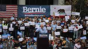 Scenes from Bernie Sanders rally in downtown L.A. [Video]