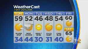 New York Weather: CBS2 Nightly Forecast at 11PM [Video]