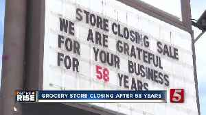 East Nashville grocery store closing after 58 years [Video]