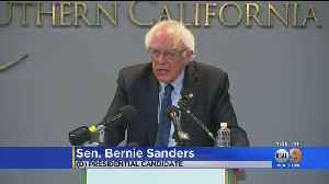 Presidential Candidate Bernie Sanders Visits The Southland [Video]