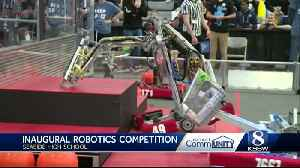 Seaside High School plays host to worldwide robotics competition [Video]