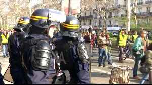 News video: France: Security in Paris tightened amid fears of further rioting