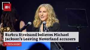 News video: Barbra Streisand Causes Quite A Stir By Commenting On Michael Jackson