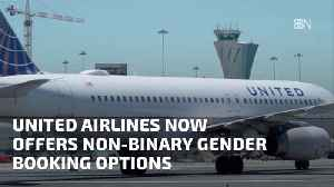 United Airlines Has A Gender Neutral Ticket Option [Video]