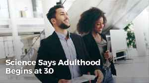 Adulthood Does Not Scientifically Start At 18 or even 21 [Video]