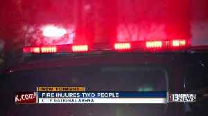 2 people injured during a kitchen fire at City National Arena [Video]
