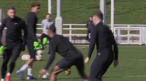 England players train with a rubber chicken before Euro 2020 qualifier [Video]