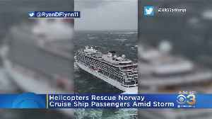 Helicopters Rescue Norway Cruise Ship Amid Storm [Video]