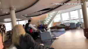 Storm and engine failure causes chaos on Norway cruise [Video]