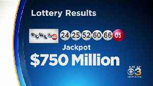 Powerball Still Growing After No Ticket Has Winning Numbers [Video]