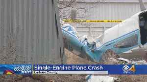 Plane Crashes Near Boyd Lake [Video]