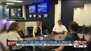 2 Works for You hosts foreign journalist part of RIAS exchange [Video]