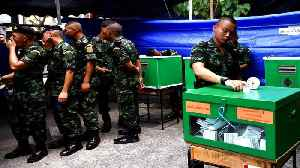 Thailand elections: Military-backed party takes lead [Video]
