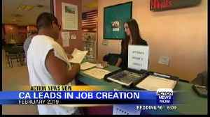 California leads in new job creation [Video]
