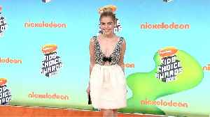 Kiernan Shipka 2019 Kids' Choice Awards Orange Carpet [Video]