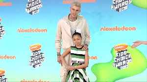 Machine Gun Kelly 2019 Kids' Choice Awards Orange Carpet [Video]