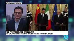Xi Jinping in Europe - Federico Luisetti talk about the Belt and Road initiative [Video]