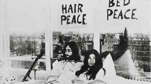 John Lennon And Yoko Ono's 'Bed-In' Celebrated 50 Years Later [Video]