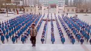 PE teacher leads dance routine with hundreds of students in China [Video]