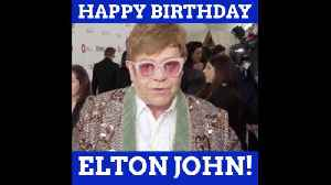 Happy Birthday Elton [Video]