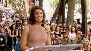 Mandy Moore Speech at her Hollywood Walk of Fame Ceremony [Video]