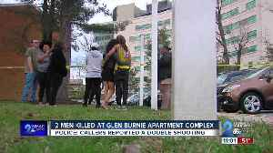 Police find two men dead after responding to double shooting at Glen Burnie apartment complex [Video]