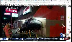 Rosedale liquor store re-opens less than 48-hours after car crashed into it [Video]