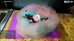 Cotton candy and ice cream burrito? Yes, please! [Video]