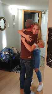 Surprise reunions make the holiday season special [Video]